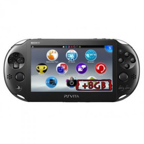 SONY PS VITA SLIM 2000 8GB 1 GAME PLAYSTATION PORTABLE