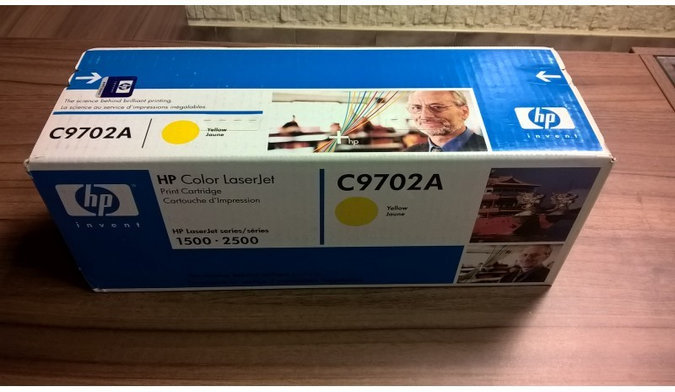 HP 121A YELLOW ORIGINAL TONER CARTRIDGE C9702A