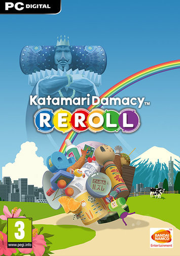 KATAMARI DAMACY REROLL STEAM ACCOUNT OFFLINE FREE SHIPPING NO DVD FROM ICELAND:)