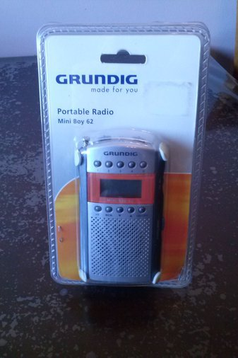 GRUNDIG MINI BOY 62 RAADIO