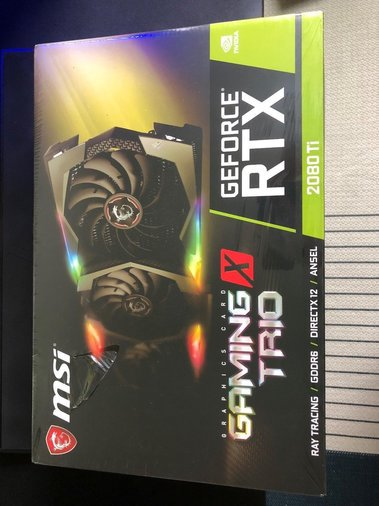 MSI GEFORCE RTX 2080 TI GAMING X TRIO 11GB DDR6 GRAAFIKAKAART