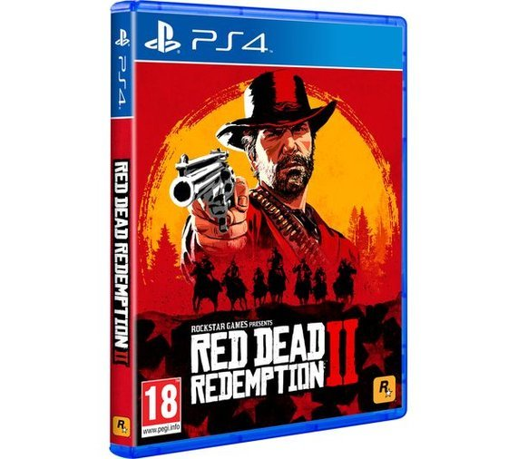 RED DED REDEMPTION 2 PS4