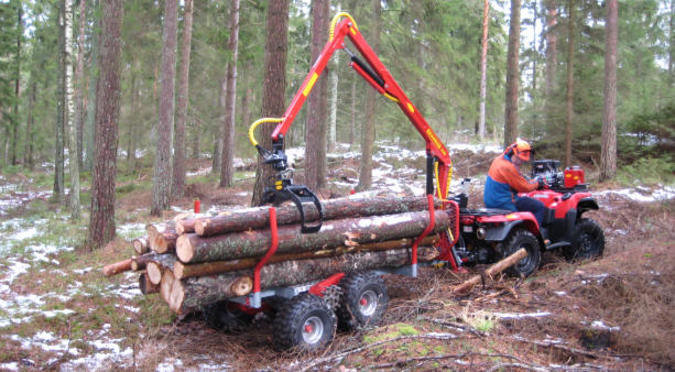 ATV FORWARDER 4WD (KRANMAN)