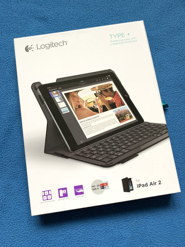 LOGITECH TYPE+ BLUETOOTH KEYBOARD - IPAD AIR2 / IPAD PRO 9.7