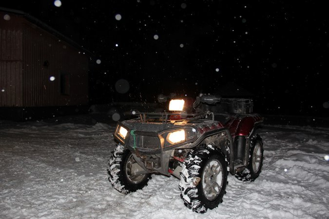 POLARIS SPORTSMAN 850XP TWIN
