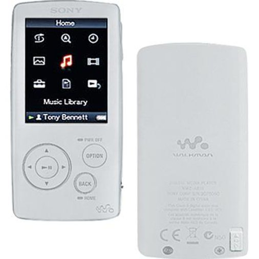 VIDEO/MP3 MÄNGIJA SONY NWZ-A816 4GB WALKMAN® - GARANTII