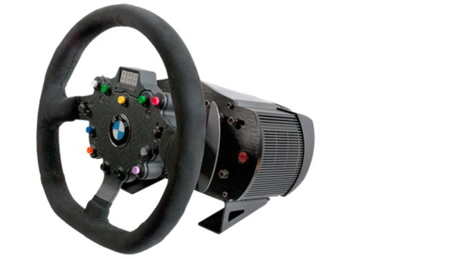FANATEC CLUBSPORT WHEELBASE CSW V2.5 + BMW GT2 ROOL
