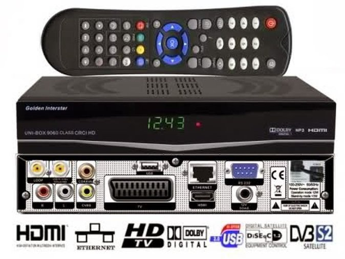 GOLDEN MEDIA 9060 DIGIBOX - SAT TV