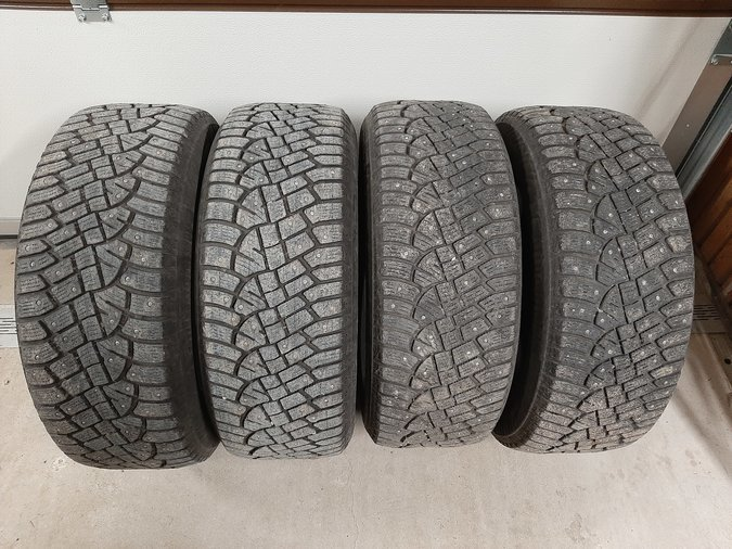 CONTINENTAL ICECONTACT2 225/60R16