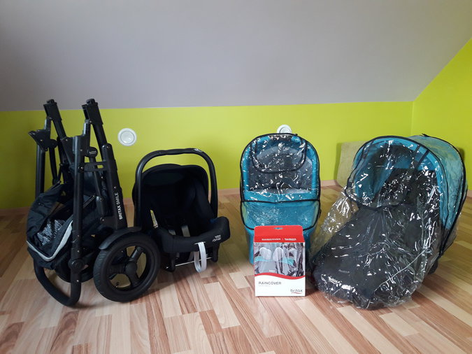 BRITAX SMILE 2 LAGOON GREEN 3IN1