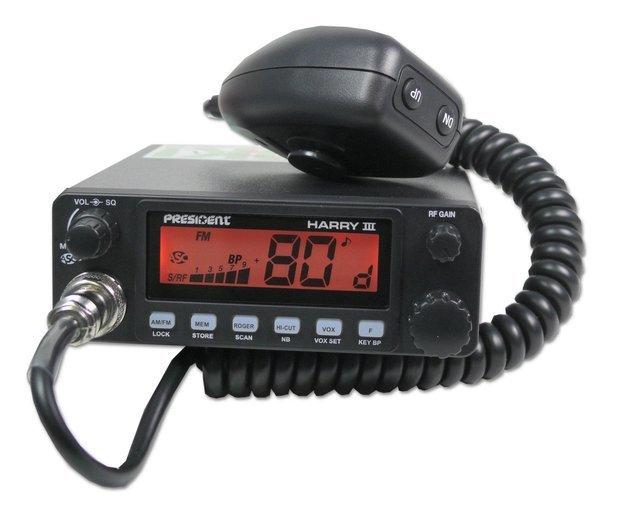 533794a7859 PRESIDENT HARRY III ASC AM/FM CB LÄLLAR KOOS ANTENNIGA