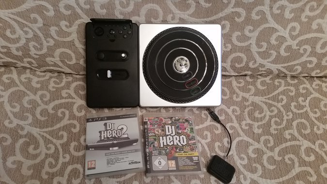 SONY PS3 DJ HERO 1+2 SET PLAYSTATION 3