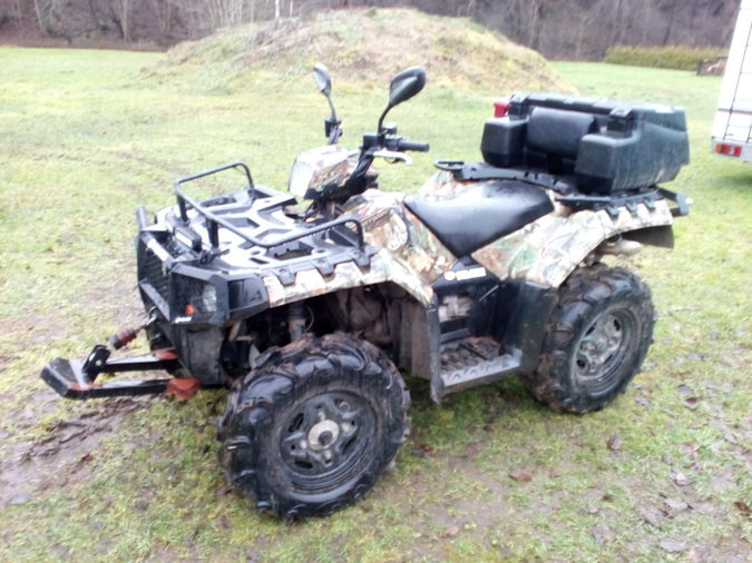 ATV POLARIS SPORTSMAN 850XP 51KW 2011.A.
