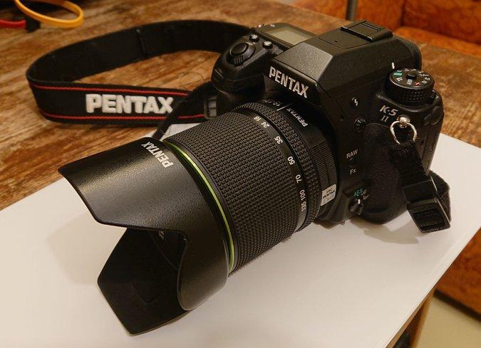 bdbdbfa3c5a PEEGELKAAMERA PENTAX K-5 II + 18-135MM WR