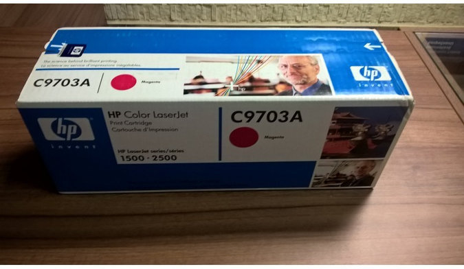 HP 121A MAGENTA ORIGINAL TONER CARTRIDGE C9703A