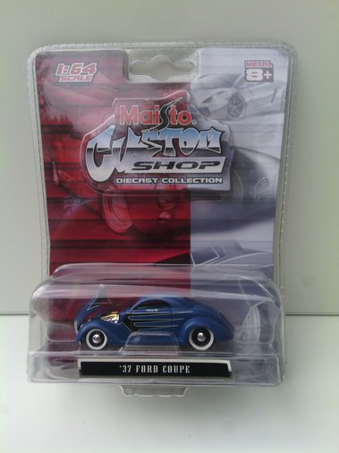 MAISTO 37 FORD COUPE