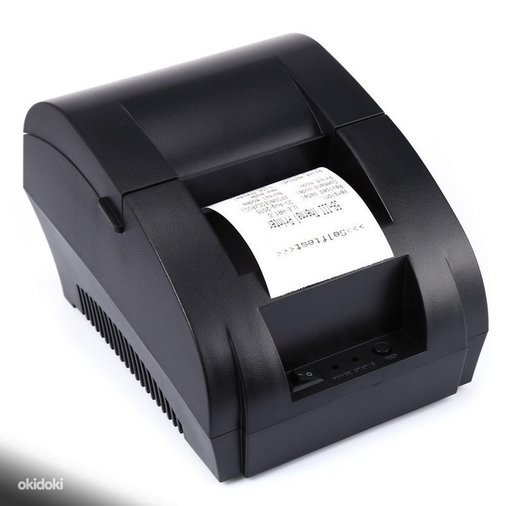 MINI PRINTER POS 58MM USB PORT BLACK THERMAL PRINTER