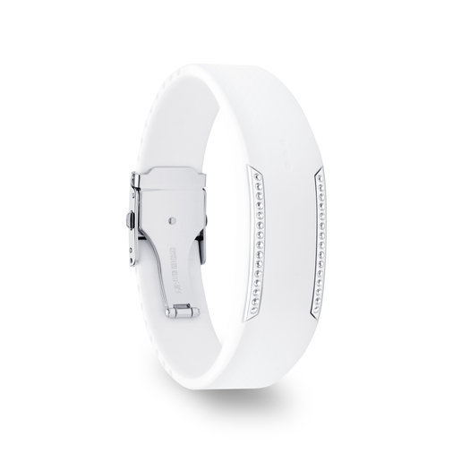 CRYSTAL POLAR LOOP WHITE