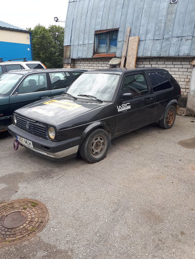 VW GOLF II RALLIKAS