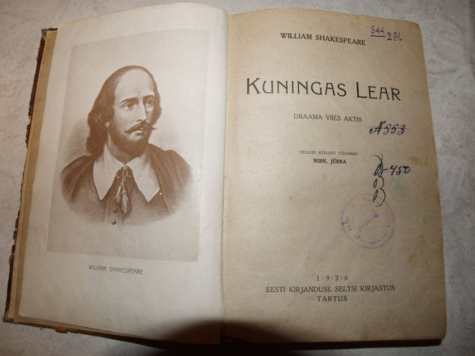 KUNINGAS LEAR (WILLIAM SHAKESPEARE)