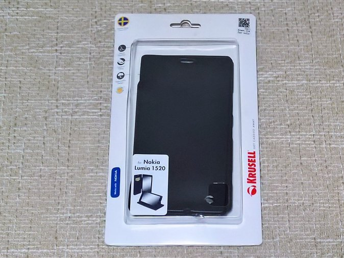 NOKIA LUMIA 1520 COVER KRUSELL BLACK