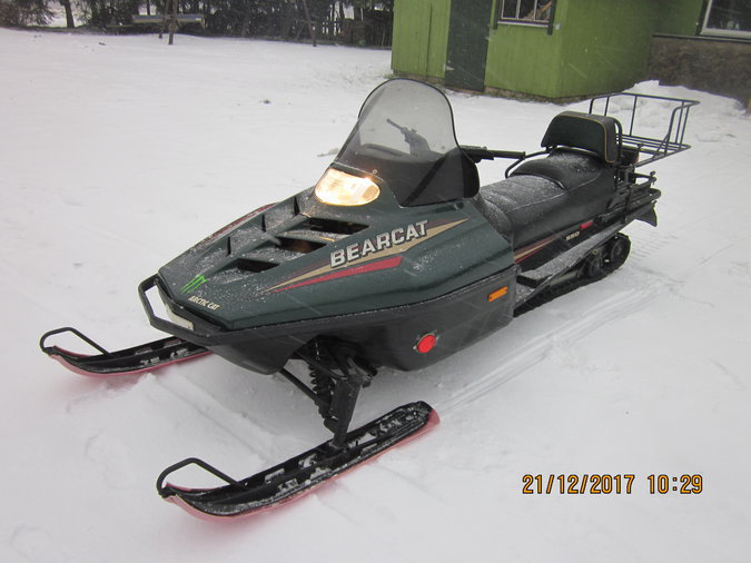 ARCTIC CAT BEARCAT 550 60KW 1995