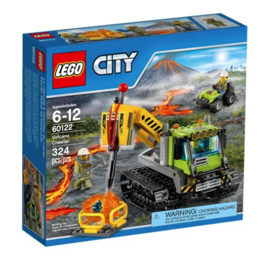 60122 LEGO CITY VULKAANI ROOMIKAUTO