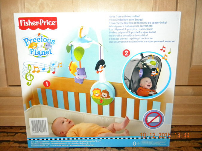 FISHER-PRICE´I VOODIKARUSSELL