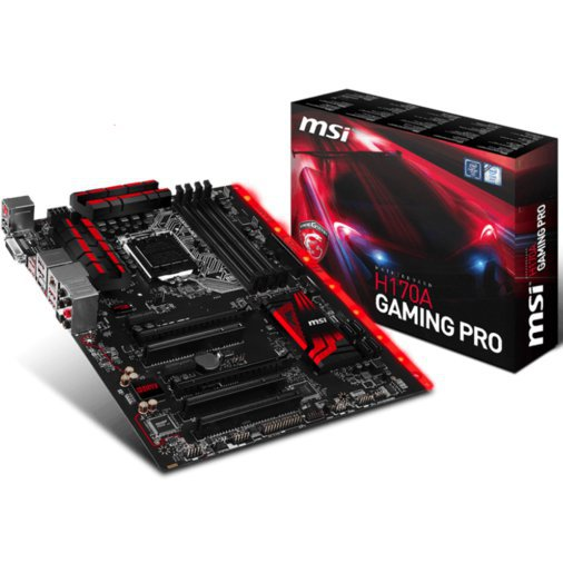 MSI H170A GAMING PRO EMAPLAAT