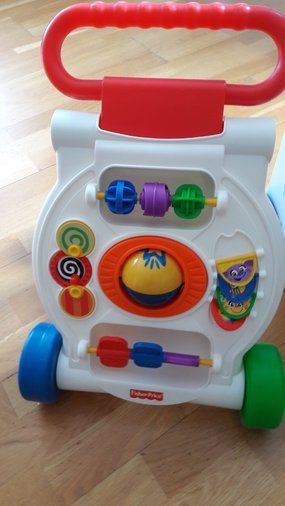 FISHER PRICE KÄIMISTUGI ACTIVITY