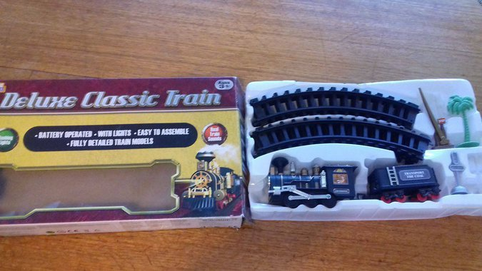 MÄNGURONG ,DELUXE CLASSIC TRAIN''