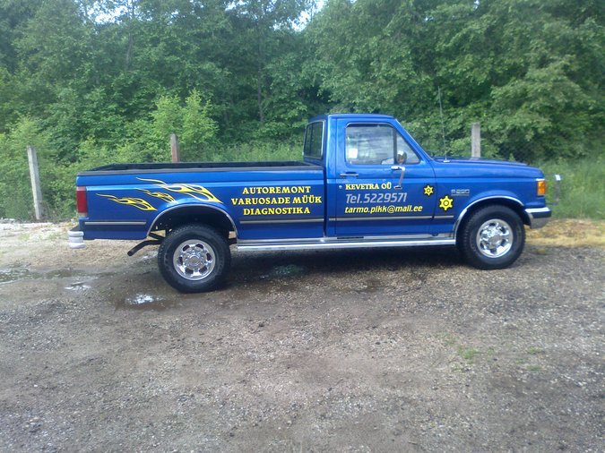 FORD F-250 5.0 -89
