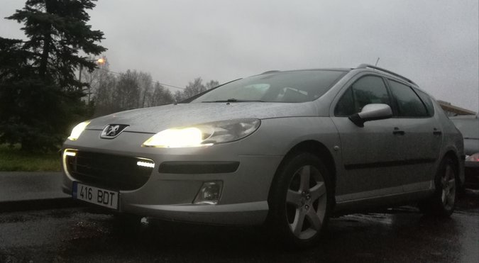 PEUGEOT 407 1.6 HDI 80 kW -05