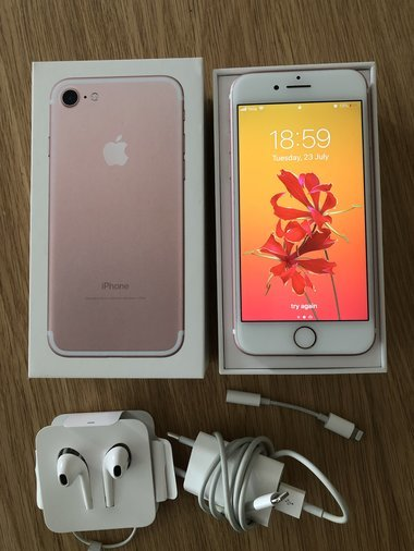 MÜÜA! IPHONE 7 32GB ROSE GOLD