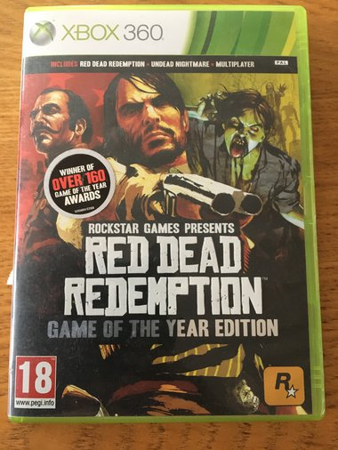 XBOX 360 RED DEAD REDEMTION GAME OF THE YEAR EDITION