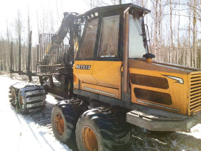 FORWARDER METSIS 208F