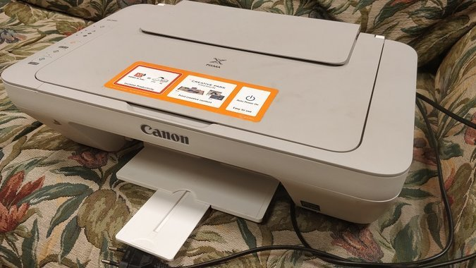 CANON MG 2450 PRINTER SCANNER
