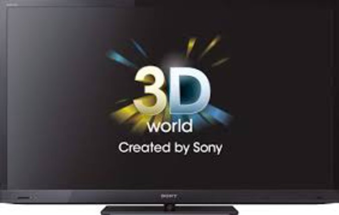 "46""SONY 3D LED TV"