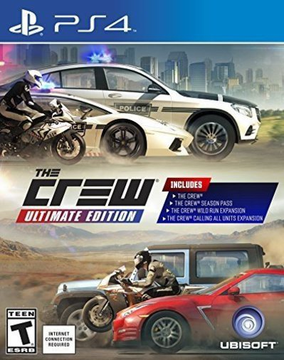 PLAYSTATION 4 / PS4 PRO THE CREW ULTIMATE EDITION RALLY MÄNG