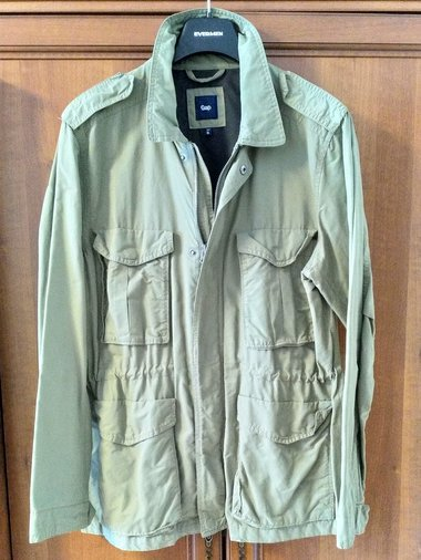 GAP KHAKI FIELD JACKET XL