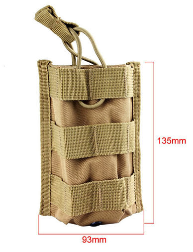 TACTICAL SINGLE RIFLE MAGAZINE POUCH