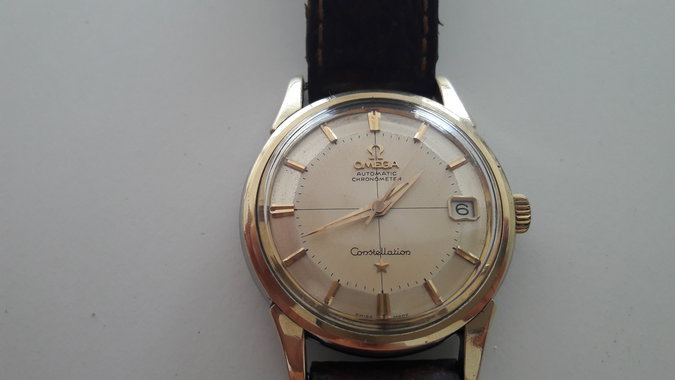 37ca689830e OMEGA CONSTELLATION 'PIE-PAN' AUTOMATIC 14393-61SC