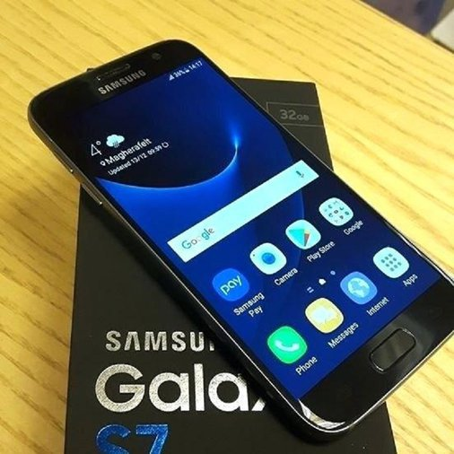 SAMSUNG GALAXY S7 32GB, BLACK