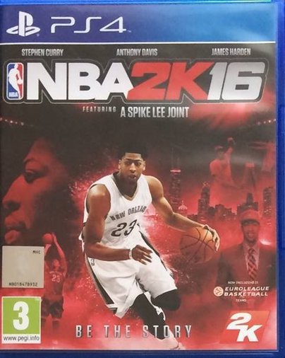 PLAYSTATION 4 MÄNG NBA 2K16
