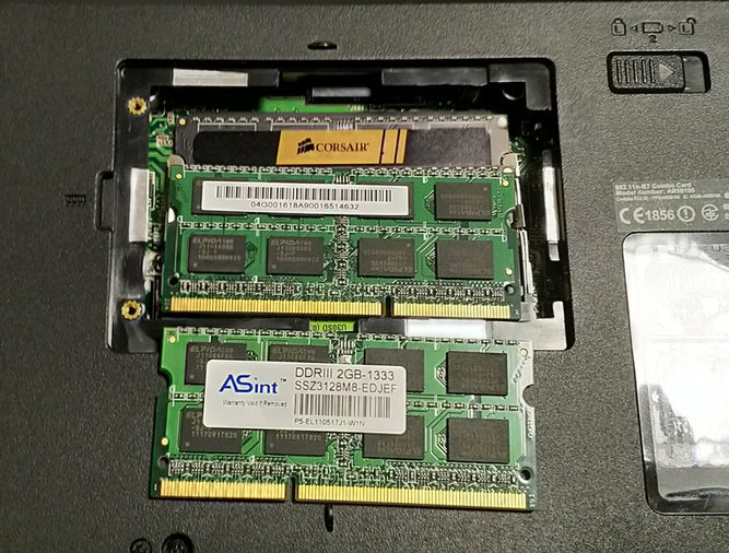 DDR3 4GB ASINT 2X2GB 1333MHZ PC3-10600 SO-DIMM 204 PIN