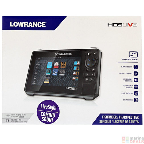 UUS KAJALOOD/KAARDIPLOTTER LOWRANCE HDS-7 LIVE WITH ACTIVE IMAGING 3-IN-1
