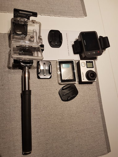 GOPRO HERO4 SILVER EDITION/ REMOVU R1 WIFI LIVE VIEW DISPLAY