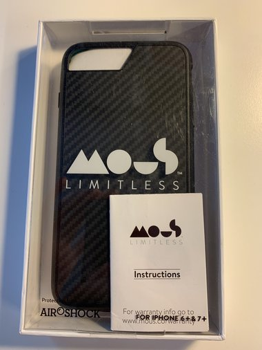MOUS LIMITLESS IPHONE6+ & 7+ KEVLAR CASE + MOUNT