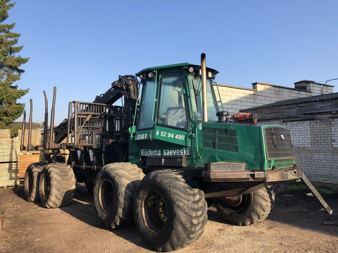 TIMBERJACK 1110D FORWARDER