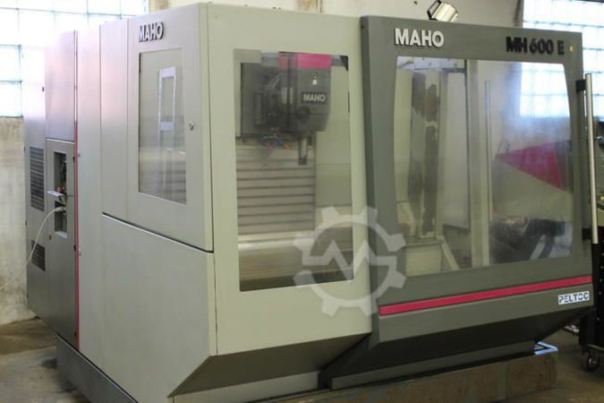 METALLI CNC FREESPINK MAHO MH 600 E (VIDEO)